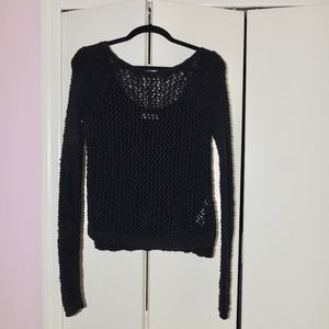Abercrombie and Fitch Navy Knit Sweater